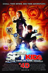 Spy Kids: All the Time in the World in 4D (3D) showtimes and tickets