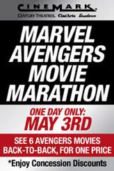 Cinemark Marvel Avengers Movie Marathon showtimes and tickets