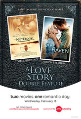 Nicholas Sparks Doubleheader showtimes and tickets