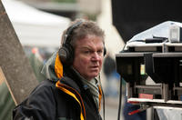 Director John Madden on the set of