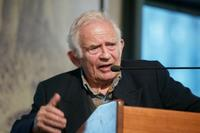 Norman Mailer at the Barnes & Nobles Union Square in New York City for a bookstore appearance to discuss the new book