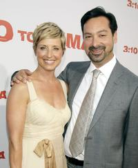 James Mangold and Cathy Konrad at the premiere of