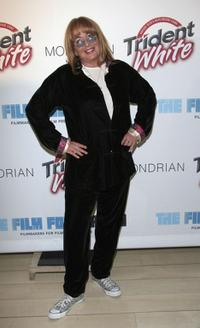 Penny Marshall at the Skybar Mondrian Hotel for The Trident White