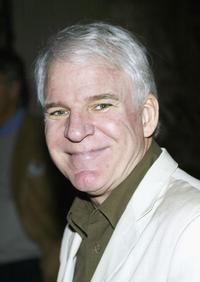 Steve Martin at the after party for the premiere of his play