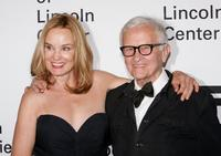 Jessica Lange and Albert Maysles at the Film Society of Lincoln Center.