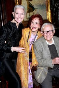 Nancy Ozelli, Rose Billings and Albert Maysles at the presentation of the 2008 Sir John Gielgud Award to Patrick Stewart.
