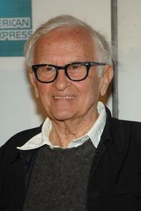 Albert Maysles at the premiere of