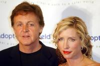 Paul McCartney and Heather Mills at the Annual Adopt-A-Minefield Gala.