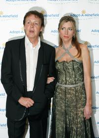 Paul McCartney and Lady Heather Mills McCartney at the