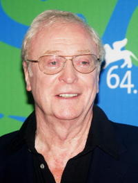Michael Caine at the Sleuth photocall during Day 2 of the 64th Annual Venice Film Festival.