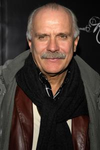 Nikita Mikhalkov at the party hosted for him by