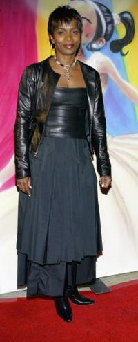Vanessa Bell Calloway at the gala benefit for Debbie Allen's musical Pearl.
