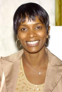 Vanessa Bell Calloway at the 2002 Lullabies and Luxuries Fashion Event.