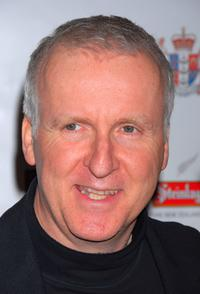 James Cameron at the Sixth Annual Celebration of New Zealand Filmmaking and Creative Talent Pre-Oscar Dinner party.