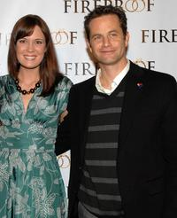 Erin Bethea and Kirk Cameron at the premiere of