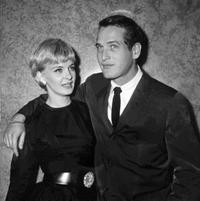 Joanne Woodward and Paul Newman at the presentation of