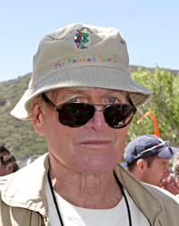 Paul Newman at the dedication of Painted Turtle Camp.