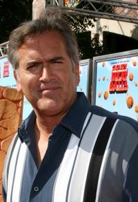 Bruce Campbell at the California premiere of