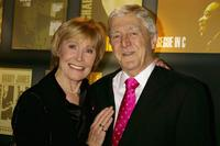 Mary Parkinson and Michael Parkinson at the Music Industry Trust Awards 2005.