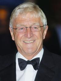 Michael Parkinson at the Royal gala premiere of Lord Andrew Lloyd Webber's new musical