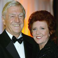 Michael Parkinson and Cilla Black at the Bob Monkhouse - A BAFTA Tribute.