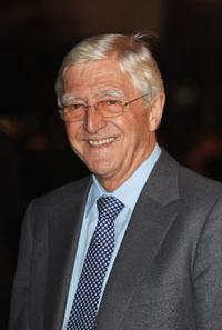 Michael Parkinson at the world premiere of