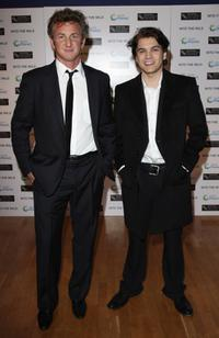 Sean Penn and Emile Hirsch at the BFI 51st London Film Festival.