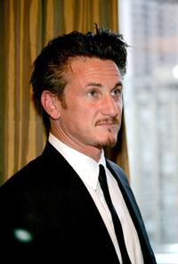 Sean Penn at the Syracuse University.