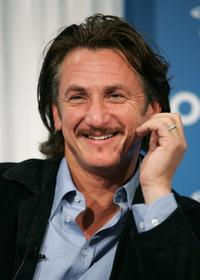 Sean Penn at the Toronto International Film Festival press conference for