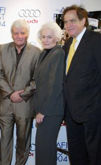 Jacques Perrin, Jean Firstenberg and Arthur Cohn at the premiere of