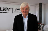 Jacques Perrin at the Renault Lounge during the 63rd Annual Cannes Film Festival.