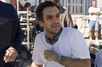 Director Todd Phillips on the set of