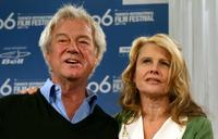 Gordon Pinsent and Julie Christie at the press conference of