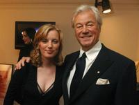 Sarah Polley and Gordon Pinsent at the Toronto International Film Festival Cocktail Party.