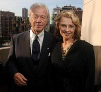 Gordon Pinsent and Julie Christie at the Toronto International Film Festival Cocktail Party.