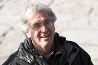 Director Harold Ramis on the set of