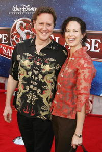 Judge Reinhold and Amy at the premiere of