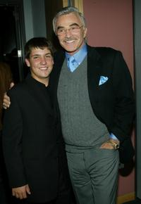 Burt Reynolds and Guest at the Fourth Annual Actors' Fund of America gala.
