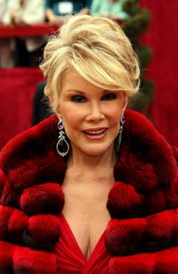 Joan Rivers at the 79th Annual Academy Awards.