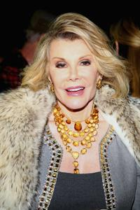 Joan Rivers at the Broadway opening of