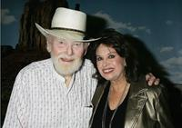 Harry Carey, Jr. and Lana Wood at the Academy of Motion Picture Arts and Sciences special 50th anniversary screening of