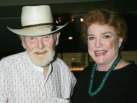 Harry Carey, Jr. and Pippa Scott at the Academy of Motion Picture Arts and Sciences special 50th anniversary screening of