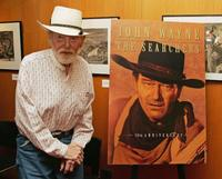 Harry Carey, Jr. at the Academy of Motion Picture Arts and Sciences special 50th anniversary screening of