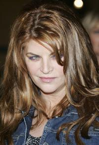 Kirstie Alley arrives at the premiere of