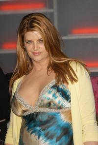 Kirstie Alley at the premiere of