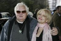 Ken Russell and guest at the South Bank Show Awards at the Savoy Hotel.