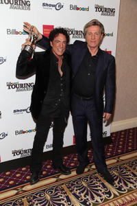 Neal Schon and Ross Valory at the 2011 Billboard Touring Awards in New York.