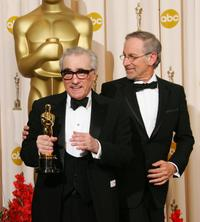 Martin Scorsese and Steven Spielberg at the 79th Academy Awards.
