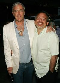Marc Shaiman and Scott Wittman at the opening of