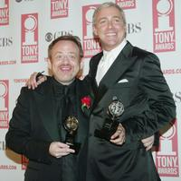 Marc Shaiman and Scott Wittman at the 57th Annual Tony Awards.